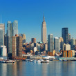MANHATTAN SKYLINE - Foto Stock