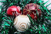 Christmas ornaments. — Stock Photo