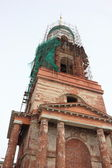 The bell tower at the Cathedral. — Stock Photo