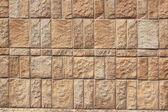 Stone wall. Fragment. — Stock Photo