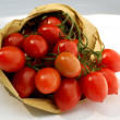 Royalty-Free Stock Photo: Basket of tomatoes