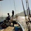 Italy, Sicily, Messina, June 09 2010, Waiting to fish swordfish — Stock Photo
