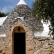 Tipical roofs of Trullo in Apulia — Stock Photo