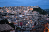 Sicily, view of Ragusa Ibla — Stock Photo