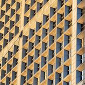 """Windows of the """"grande Arche"""" in Paris — Stock Photo"""