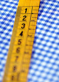Closeup of tailor's measuring tape — Foto de Stock