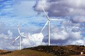 Windmills on a hill — Stock Photo