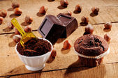 チョコレートのマフィン — ストック写真