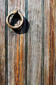 Oude detail deur — Stockfoto