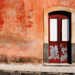 Old wall with door — Stock Photo #37761441