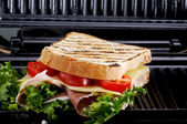 Grilled toast — Stock Photo