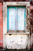 Wall with window — Stock Photo