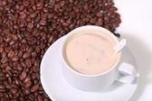Gorąca kawa — Zdjęcie stockowe