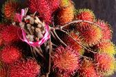 Rambutan Fruits — Stock Photo