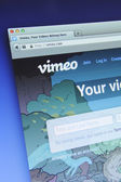 Vimeo Website — Stock Photo
