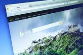 Bing Website — Stock Photo