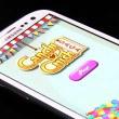 Foto de Stock  : Candy Crush SagGame