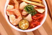 Tom Yam Soup — Stock Photo