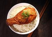 Drumstick Rice — Stock Photo