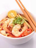 Tom Yam Noodle — Stock Photo