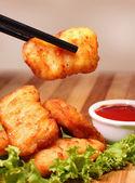 Nuggets fritos — Foto de Stock