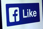 Facebook como — Foto de Stock