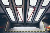 Opening tram doors — Foto Stock