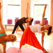 Yoga for women — Foto Stock