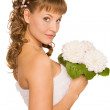 Stock Photo: Fascinating bride