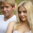 Foto Stock: Two teenagers