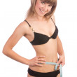 Slim girl in underwear — Stock Photo #14176152