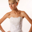 Stylish bride — Stockfoto