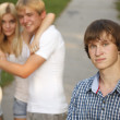 Stockfoto: Problem teenager