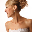 Stock Photo: Brides profile