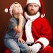Royalty-Free Stock Photo: Dear Santa.....i want..
