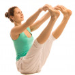 Yoga girl - Stockfoto