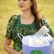 Stockfoto: Keep our planet clean