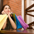After good shopping — Stock Photo