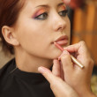 Art make-up - Stock Photo