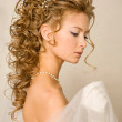 Stunning bride — Stock Photo
