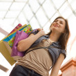 Young woman shopping — Foto Stock