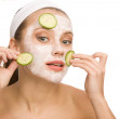 Stockfoto: Natural skin care