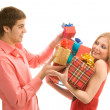 Stock Photo: Gifts for you!