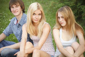 Teens — Stock Photo