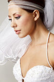 Sensual bride — Stock Photo