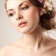 Gourgeus classical  bride  — Stock Photo