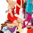 Royalty-Free Stock Photo: Nothing to wear!