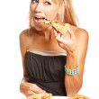 Stock Photo: Its pizztime!