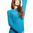 Stock Photo: Blue pullover