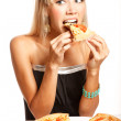 Stock Photo: Pizzparty!